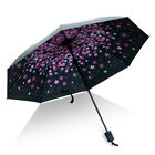 Folding Inverted Printed Sun Umbrella Windproof Double Layer Upside Down Reverse