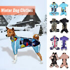 Winter Dog Clothes Warm Jacket & Zipper Pet Clothing Coat Puppy Costume Outfit
