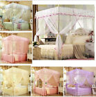 Princess Bed Curtain Canopy Mosquito Netting Or Bed Frame Twin Full Queen Size image