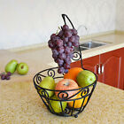 3 Tier Metal Wire Fruit Vegetable Basket Bowl Rack Stand Kitchen Storage Unit US