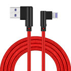 90 Degree 4A Fast Charging Charger Cable For Lightning Micro USB Type C Android