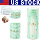 2/4/6 Inch Transparent Film Dressing Roll Wound Adhesive Tape Bandage Waterproof