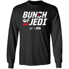 Men's BUNCH OF JEDI CAROLINA HURRICANES STAR WARS Black Long T-shirt M-5XL $26.99 USD on eBay