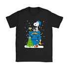 A Happy Christmas With Los Angeles Chargers Snoopy NFL Funny Black T-Shirt S-6XL $15.99 USD on eBay