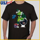 Grinch NFL Official Team Football Green Bay Packers T-Shirt Black S-6XL Reprint $11.99 USD on eBay