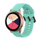 Pure Color Silicone Replacement Band For Samsung Galaxy Watch Active2 Active
