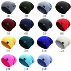 Men Women Crochet Knit Plicate Baggy Beanie Wool Hat Skull Winter Warm Hats GIFT