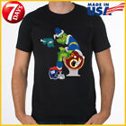Grinch Hand Bowl Los Angeles Chargers FAN Team T-shirt NFL S-6XL Tee Reprint $10.99 USD on eBay
