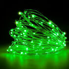 Купить 20 50 100 LEDs Battery Operated Mini LED Copper Wire String Fairy Lights 10M
