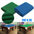 11.2x4.7ft Worsted Billiard Pool Eight Ball  Cloth Felt For 7ft 8ft £19.99 GBP on eBay