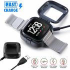 Kyпить For Fitbit Versa 2 Smart Watch USB Charging Cable Power Charger Dock Cradle на еВаy.соm