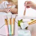 Silicone Face Brush for Facials Hairless Applicator Rhinestone Handle UK