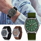 Military Army Aviator Men's Quartz Sport Wrist Watch Casual Nylon Canvas Strap