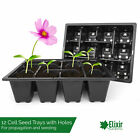 12 Cell Bedding Plant Pack Tray Inserts for Half Size Seed Propagator trays