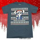 New Disney Lilo & Stitch Ugly Sweater Christmas Mens Vintage T-Shirt