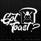 Got Toast? Vinyl Decal Sticker Scion XB Chopsticks Geisha Girl Badass JDM Funny $18.73 USD on eBay