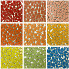 100g DIY Ceramic Mosaic Tiles Wall Crafts Various Mixes Optic Drops