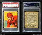 1935 National Chicle #27 Bull Tosi  PSA 3 - VGFootball Cards - 215