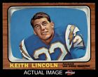1966 Topps #127 Keith Lincoln Chargers Washington St 7 - NM $24.0 USD on eBay