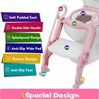 Toddler Potty Toilet Trainer Safety Seat Chair Step with Adjustable Ladder Safe image