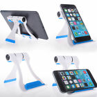 Universal Foldable Cell Phone Desk mount Stand Holder Cradle For iPhone 6s plus