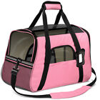 Small Cat / Dog Pet Carrier Soft Sided Comfort Bag Travel Case Airline Approved