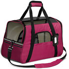 Pet Dog /Small Cat Carrier Soft Sided Comfort Bag Travel Case Airline Approved