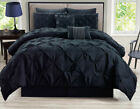 8 Piece Rochelle Pinched Pleat Set Comforter  image