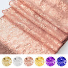 Glitter Sequin Table Runner Shinny Tablecloth Linens Party Wedding Decor Sparkly