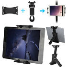 Tablet Mount For Exercise Bike Handlebars Cycling iPad Clip Holder Durable Stand