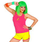 80er Jahre Hot Pants Neon-Panties Mini-Shorts Sporthose Aerobic Fitness Outfit