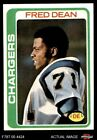 1978 Topps #217 Fred Dean Chargers LA Tech 6 - EX/MT $5.5 USD on eBay