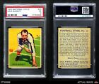1935 National Chicle #25 Dale Burnett  PSA 5 - EXFootball Cards - 215
