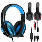 Wired Gaming Headset Headphones with Microphone for PS5 PC Laptop Mac Phone