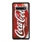 COCA COLA LOGO Samsung S7 S8 S9 S10 5G S10e Edge Plus Case $15.9  on eBay