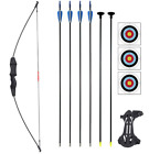 "Starlight Collective 45"" Archery Bow and Arrow Set Takedown Recurve Bow for Teen"