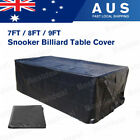 7/8/9ft Pool Snooker Billiard Table Cover Waterproof Polyester Dust Cap Outdoor $43.5 AUD on eBay