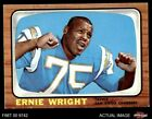 1966 Topps #131 Ernie Wright Chargers Ohio St 6 - EX/MT $17.5 USD on eBay