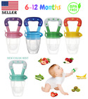 US Baby Feeding Pacifier Fresh Food Fruits Feeder, Weaning (Medium 6-12 Months)