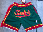NWT Men's Seattle Sonics Supersonics Just Don Summer League Stitched Shorts on eBay