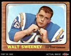 1966 Topps #126 Walt Sweeney Chargers Syracuse 3 - VG $2.65 USD on eBay