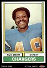 1974 Topps #45 Ron Smith Chargers San Diego St 7 - NM $1.85 USD on eBay