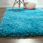 Hygge Soft Solid Shag Rug Washable Skid & Slip Resistant Area Rugs 2x3 to 8x10