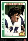 1978 Topps #360 Louie Kelcher Chargers SMU 5 - EX $0.99 USD on eBay