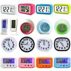 Calendar Display Beside Desk LED Night Light Digital Alarm Clocks Home Decor