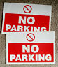 More images of -�TWO ...No Parking SignS, Sticker on type 300MM X-� 200MM