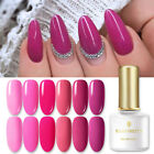 BORN PRETTY 6ml Rose Red Series Soak Off UV Gel Polish Nail Art Varnish Decor
