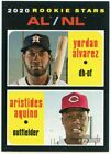 2020 Topps Heritage Baseball #1-250 - Complete Your Set