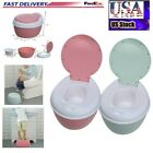 Multi-Stage 3-in-1 Potty Trainer Toilet Seat Chair Kids Toddler Training Stool image