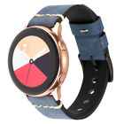 5 Color Genuine Leather Band For Samsung Galaxy Watch Active Active2 Universal